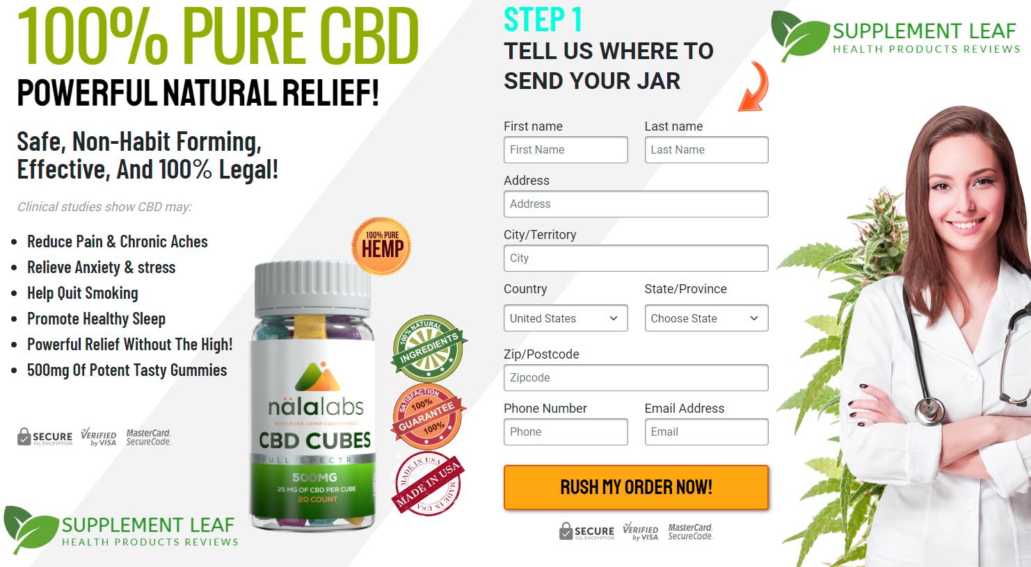 Nala Labs CBD Gummies Reviews buy