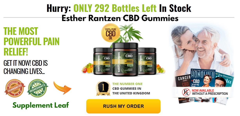 Esther Rantzen CBD Gummies United Kingdom Reviews